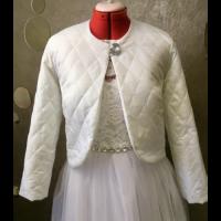 Свадебная стеганая курточка